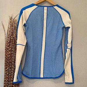 lululemon athletica Tops - Lululemon   Blue Longsleeve Shirt